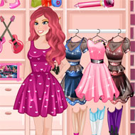 Princess Barbie Clothing Shop