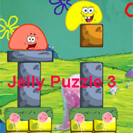 Spongebob Squarepants Jelly Puzzle 3
