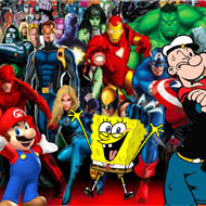 Super Heroes Race