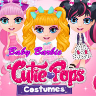 Baby Barbie Cutie Pops Costumes