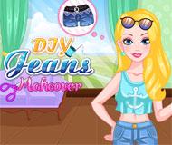 Barbie DIY Jeans Makeover