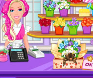 Barbie's Flower Shop
