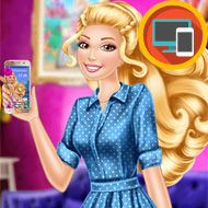 Barbie's New Smart Phone