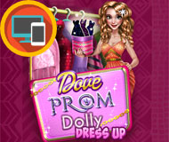 Dove Prom Dolly Dress Up