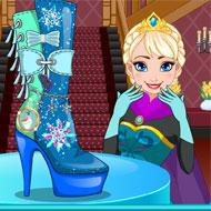 Elsa Shoes Design