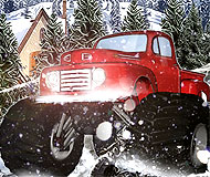 Heavy Wheels on Snow
