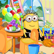 Minion Party House Cleanup