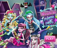Monster High Pyjama Party