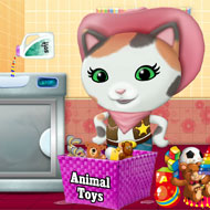 Sheriff Callie Washing Toys