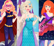 Super Barbie: From Princess To Rockstar