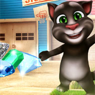 Talking Tom Jewel Match