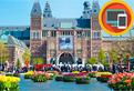 Amsterdam, literele si obiectele ascunse