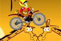 Cu Motocicleta in Jungla