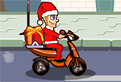 Mos Craciun Motociclist