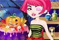 Babi Halloween Cake Decor