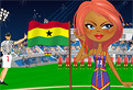 Ghana Fan Dressup