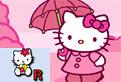 Literele si Hello Kitty