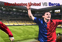 Manchester United vs Barca