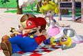 Mario si Peach