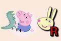 Peppa Pig si Literele
