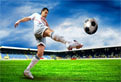 Fotbal in Puzzle