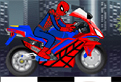 Spiderman pe Motocicleta