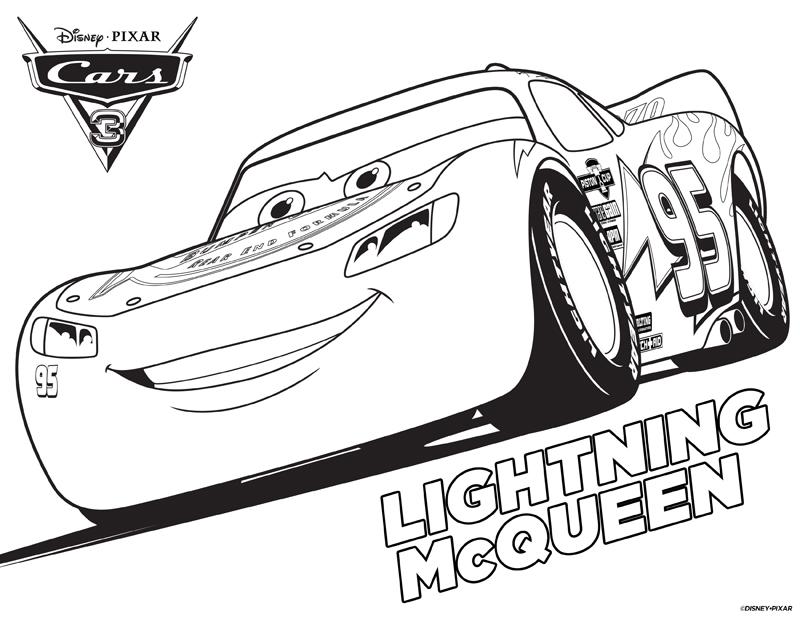 Cars 3 Fulger McQueen