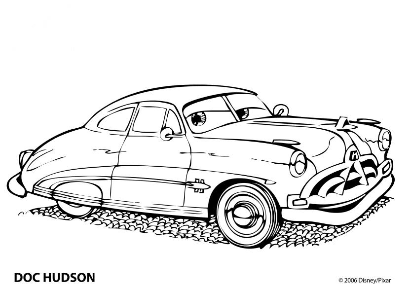 Doc Hudson de colorat