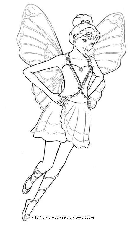 Barbie este fluture