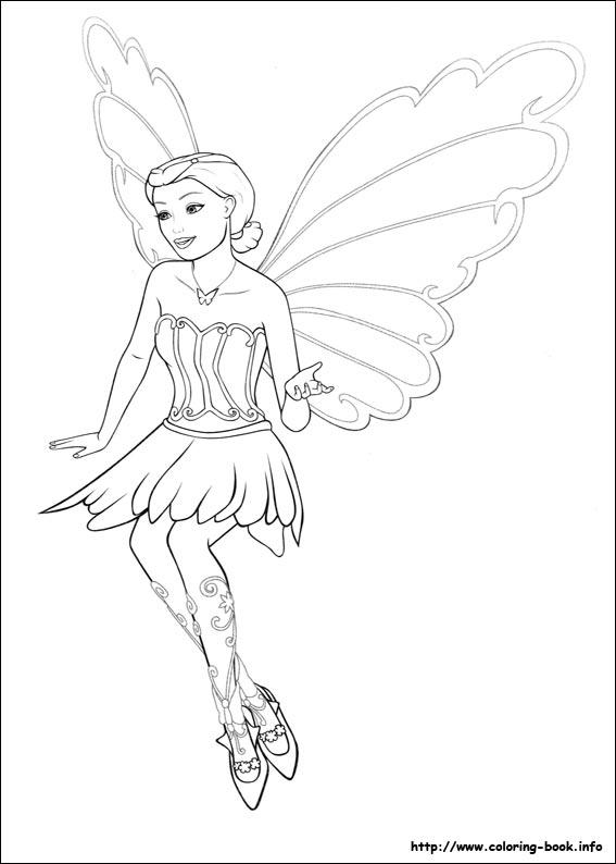 Barbie e si fluture