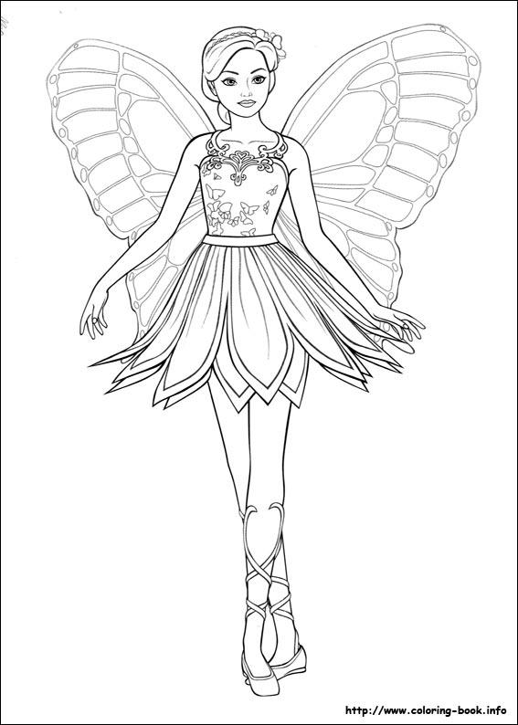 Fluturele Barbie