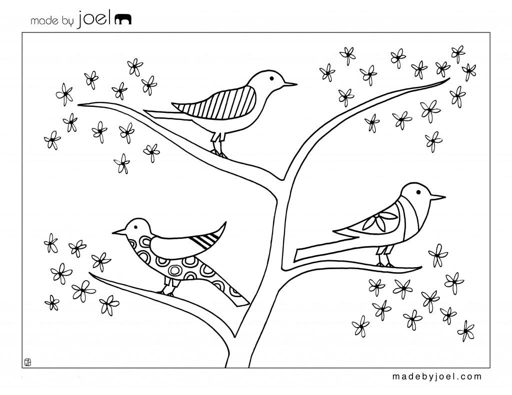 Primavara in copaci