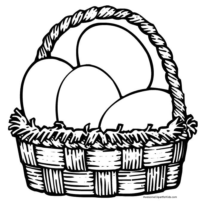 Oua in cosul de Paste