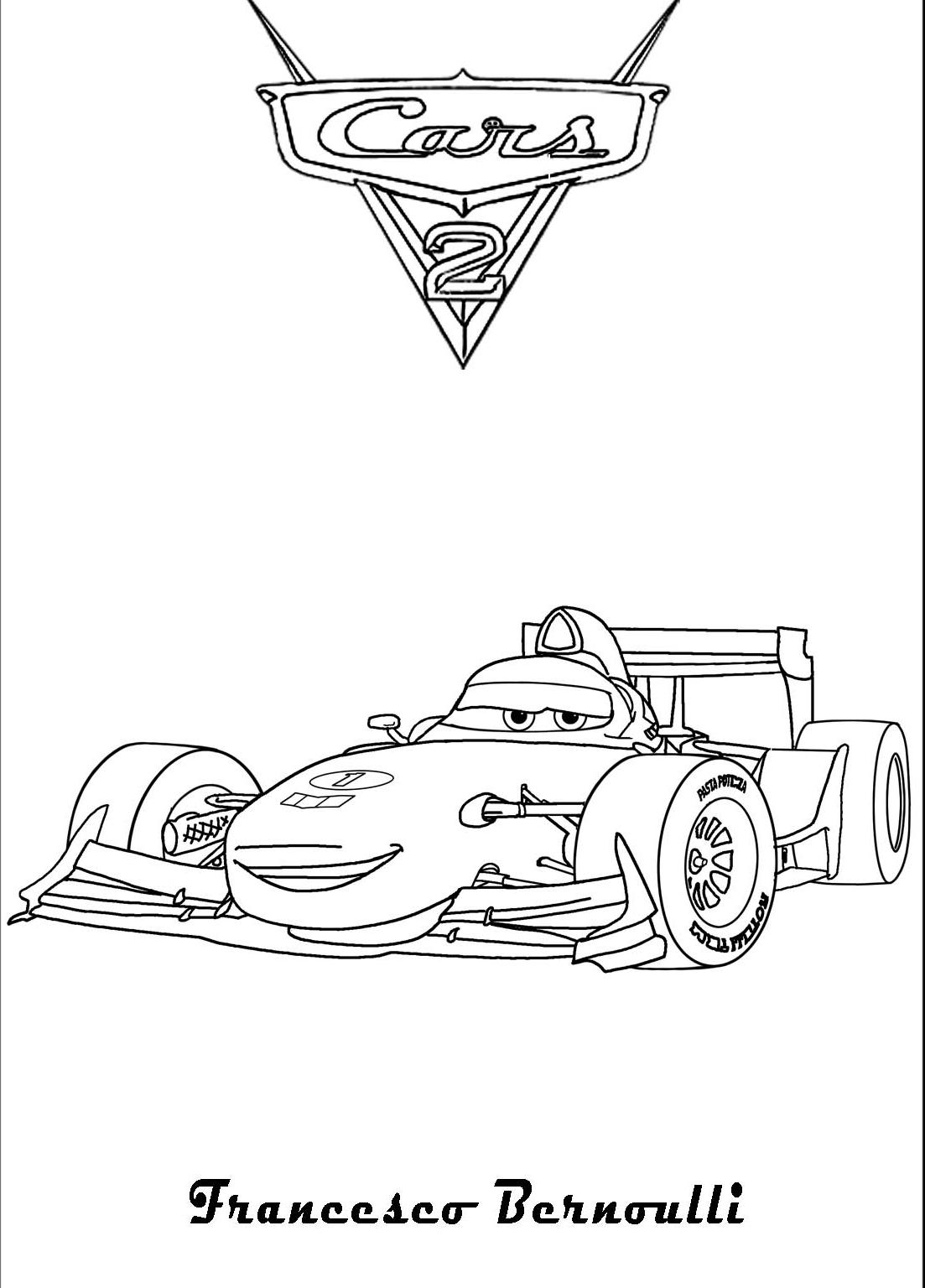 Francesco Bernoulli din Cars 2