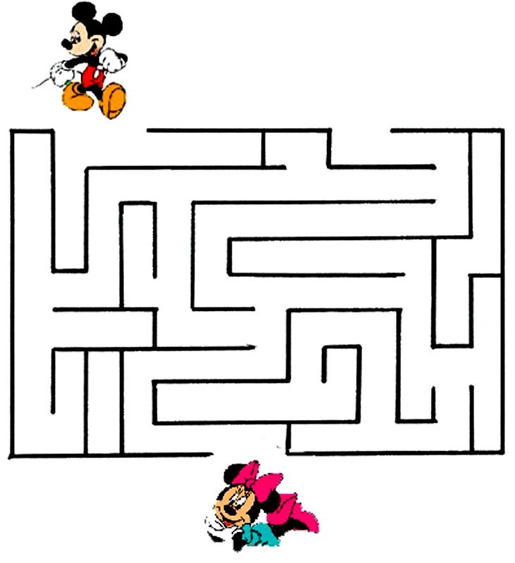 Mickey si Minnie in labirint