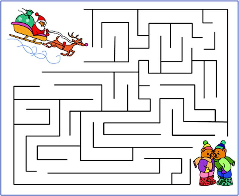 Labirintul Craciunului