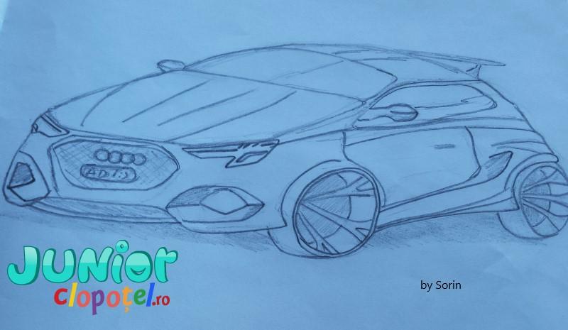 Coloreaza masina Audi