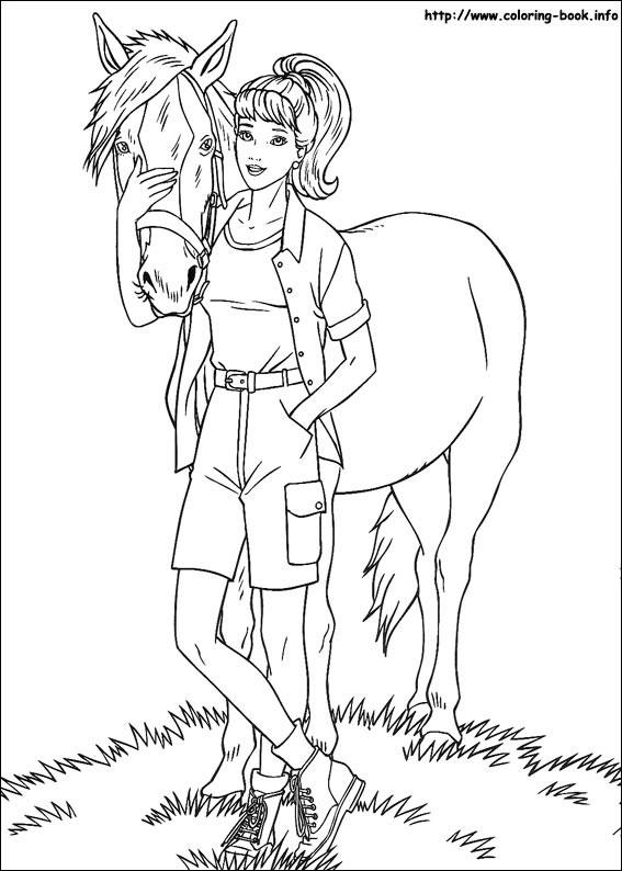 Barbie si calul