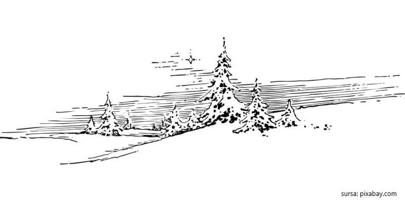 Tablou de iarna