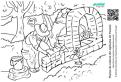 Purcelusul Naf Naf construind o casa din caramida