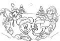 Craciun cu Disney de colorat