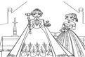 Regina Elsa si printesa Anna