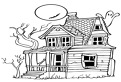 Casa de Halloween bantuita