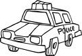 Masina veche de politie