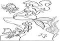Mica Sirena, Flounder si Sebastian