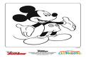 Mickey Mouse te saluta