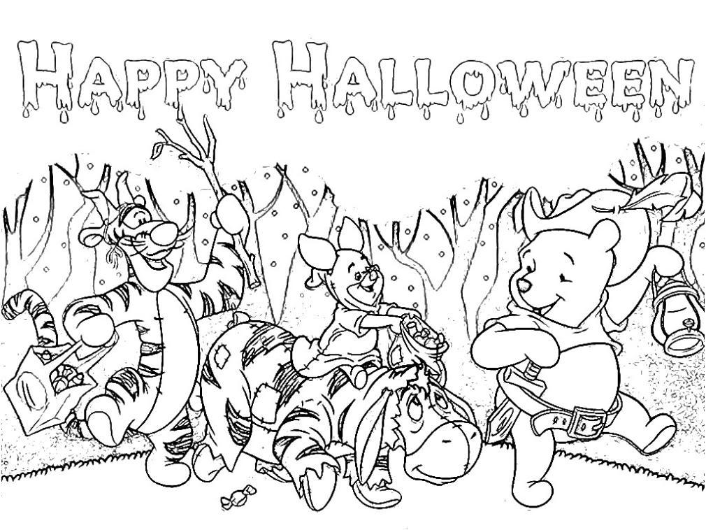 Winnie, Tigrisor si Purcelus de Halloween