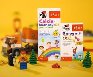 Care este doza zilnica recomandata de Calciu, Magneziu si D3 pentru dezvoltarea armonioasa a copiilor?