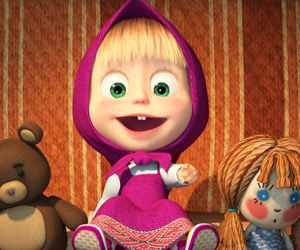 Masa si Ursul, doi prieteni adorabili, in 600 episoade de aventuri animate, la Minimax
