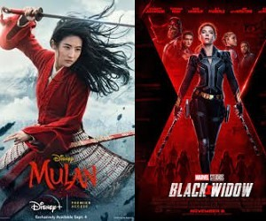 Cand vor ajunge in cinematografe Mulan si Black Widow